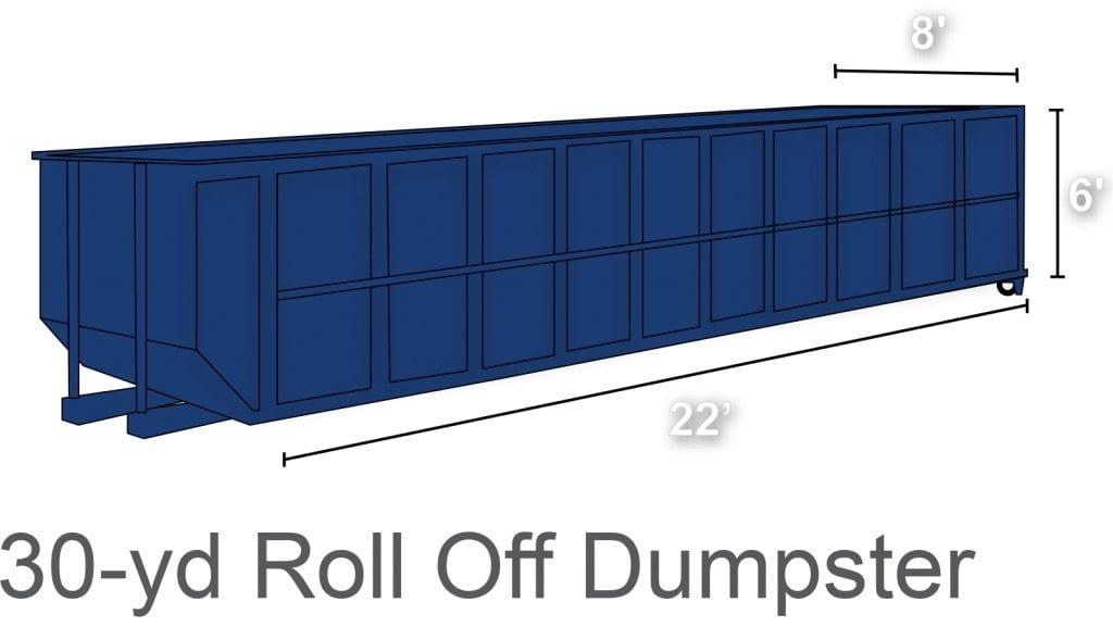 30 yard dumpster rental charlotte nc