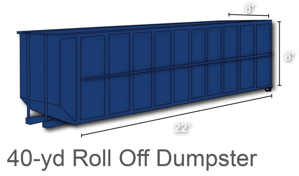 40 yard dumpster rental charlotte nc