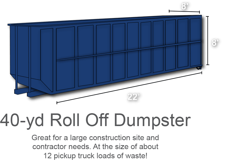 Roll Off Dumpster Truck
