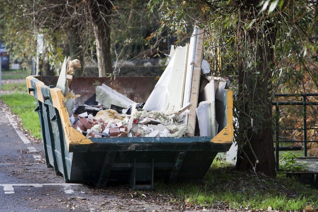 dumpster rental for home renovations