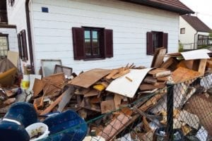 Debris can pile up faster than we realize. A dumpster might be your quick solution.