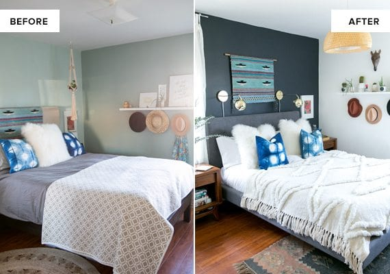 Budget Bedroom Makeover