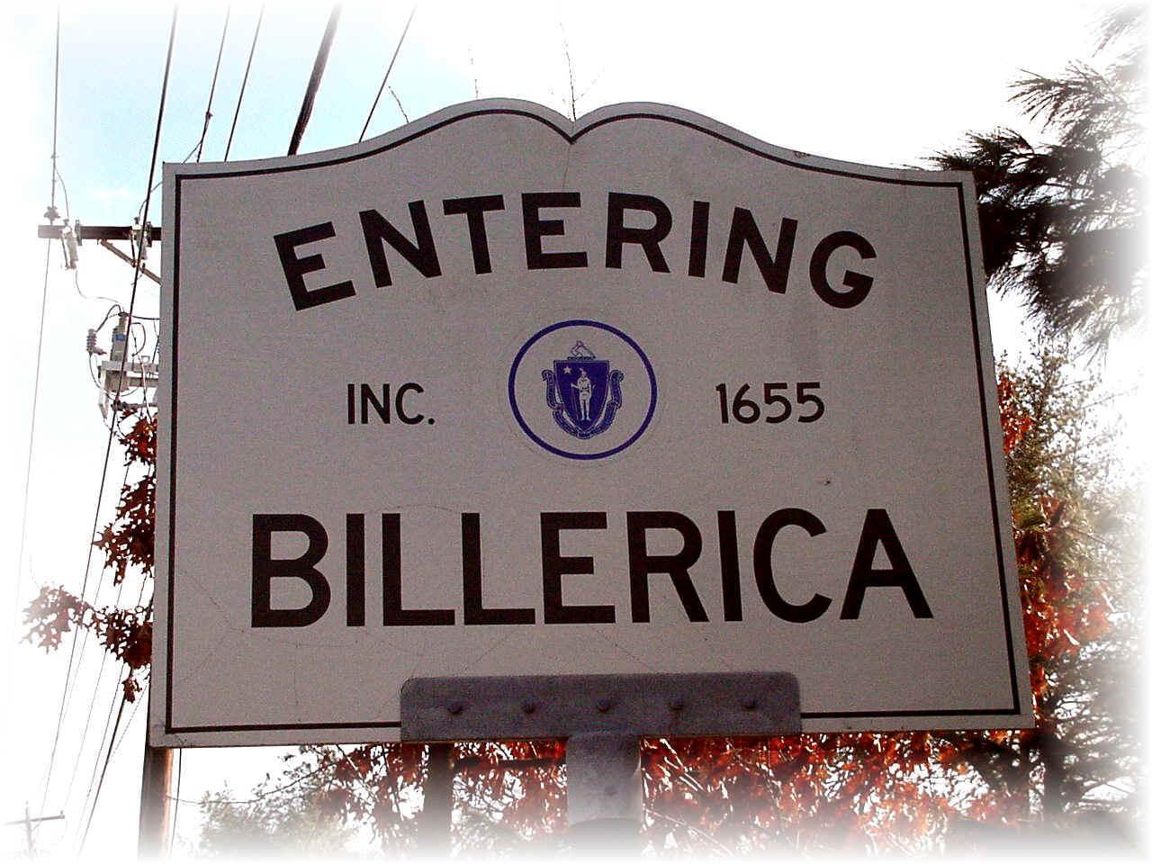 Entering Billerica MA
