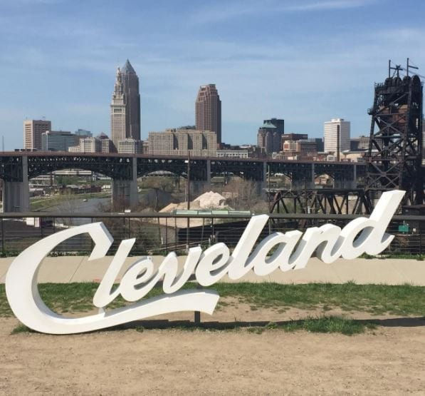 Cleveland OH Sign