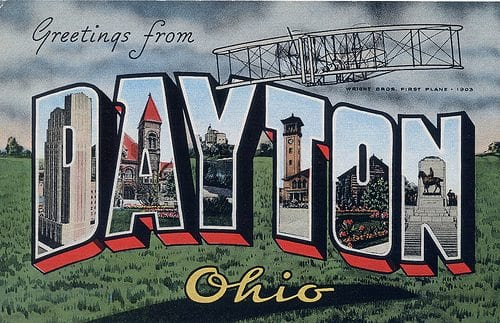 greetings from dayton oh